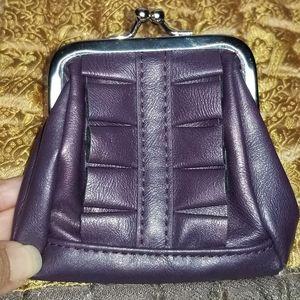 Miche Bags - Miche Karie Coin Purse, Purple Ruffle Wallet